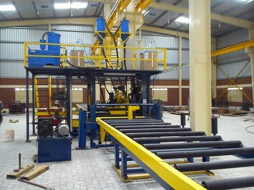 Plus Beam Welding Automation H Beam Assembly Machine