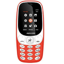 Adcom A111 Voice Changer Mobile Phone 1.8 Inch Display, Dual Sim, Red