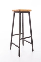 GM Design Steel Stool, For Hospital, Size: 1 Feet Top