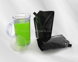 Fruit Juice Packaging Spout Pouches