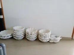 Handmade White Marble Articles