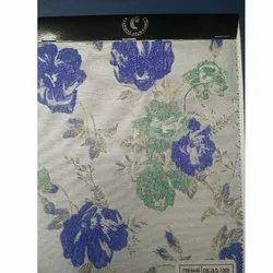 Printed Polyester Jacquard Fabric