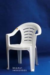Bharat Moulded Plastic Chair with Armrest