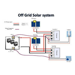 off grid solar power plant venugopal enterprises wholesale grid tie inverter wiring diagram off grid solar power plant