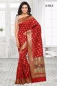 Silk Red South Indian Printed Sarees