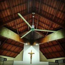 Big Church HVLS Ceiling Fans - Alite