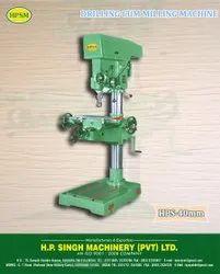 HPSM Pillar Drilling Cum Milling Machine, Warranty: 1 year