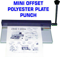 Plate Punch for Polyester Plate