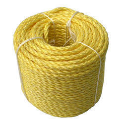 Yellow Nylon Ropes, for Industrial