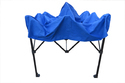 Quick Foldable Gazebo Tent - Heavy Duty - 7'x7' - Blue