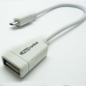 Portronics OTG Cable Micro USB to USB OTG Cable - White (POR 422)