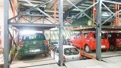 PLC Control Car Parking System