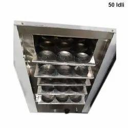 Stainless Steel 50 Idli Steamer, For Restaurant, 220 - 240 V