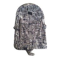 Polyester Printed School Backpack Bag