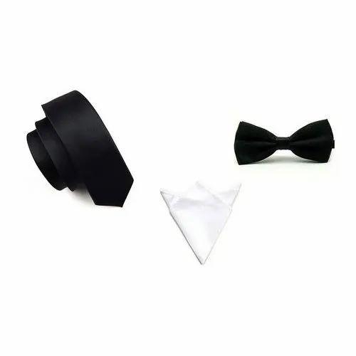 4ff12ff4e8f0 Silk Black Necktie And Bow Tie, Rs 249 /piece, M/S Shop Luv Online ...