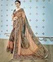 Shree Exports Formal Wear Multi Color Pure Banarasi Silk Saree
