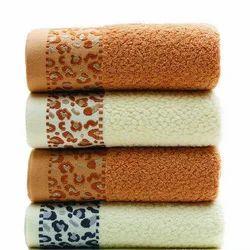 Saravana Cotton Designer Bath Towels