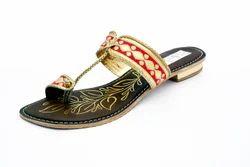 Female Kolhapuri Slippers