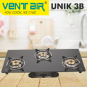 UNIK 3B Ventair Gas Stove