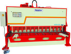 Semi-Automatic Hydraulic Sheet Shearing Machine