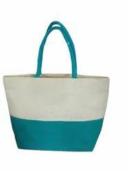 Plain Multicolor Rubis bags jute beach Tote Bags