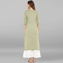 Plain Casual Wear Kurtis