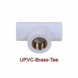 UPVC Brass Tee
