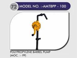 PP Hand Driven Barrel Pump
