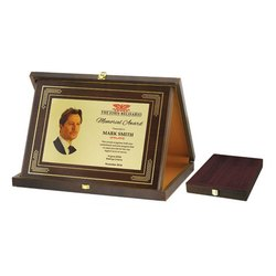 Rectangular Wooden Momento