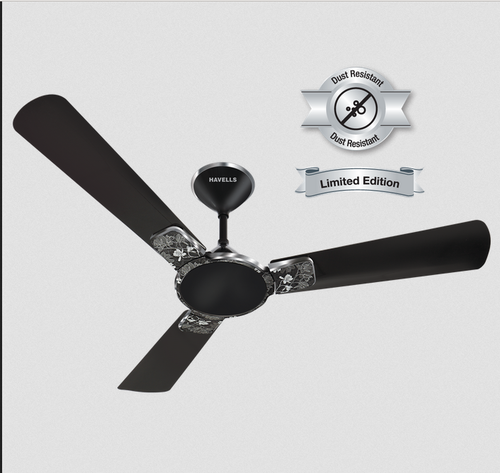 Havells met black chrom enticer art ceiling fan fhceastmbk48 rs black chrom enticer art ceiling fan fhceastmbk48 mozeypictures Images