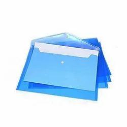 Plain Plastic A4 Size Envelope