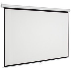 Wall Mount White Projection Screen, Screen Size: 70x90