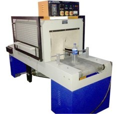 Stainless Steel Slat Chain Conveyor Shrink Machine, Length: 1-10 & 10-20 feet