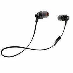 Black Wireless Bluetooth Earphone