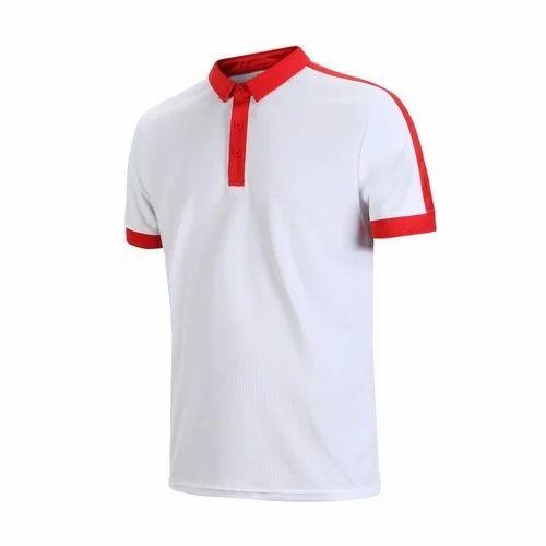 22230c4c998 Plain Half Sleeves Polo T Shirt, Rs 200 /piece, Parekh Enterprise ...