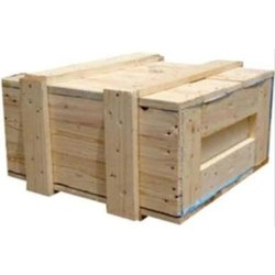 Moisture Proof Rectangle Heavy Duty Wooden Packing Box, for Shipping, 5-15 mm