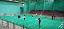 Vinyl Badminton Court Flooring