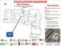 Emergency Evacuation Diagram Board