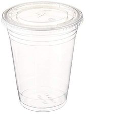 Abhinav Disposable Plastic Glass With Lid, For Events & Party Supplies, Capacity: 350 Ml