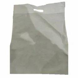 White D Cut Non Woven Carry Bag, Capacity: Upto 5 kg