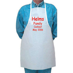 Cotton Printed Cooking Apron, Size: Large And Extra Large