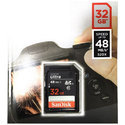 Sandisk Ultra Sdhc Uhs-i Card, Memory Size: 32 Gb