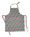 Dot Printed Kitchen Apron