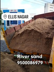 Construction River Sand, Grade: First Quality