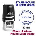 COLOP DATER STAMPS