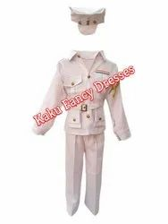 Kids Navy Fancy Dress Costume