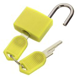 Plastic Coated Brass Padlock