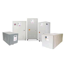 Air Cooled Automatic Servo Controlled Voltage Stabilizer-Three Phase