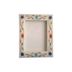 White Marble Photos Frame