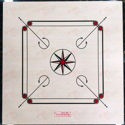 Carrom Board Printed Sheet, Ply Thickness: From 3mm Upto11mm, 25